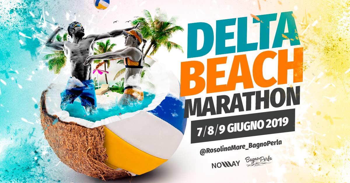 Delta Beach Marathon – 7/8/9 Giugno 2019